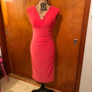 Coral colored AMERICAN LIVING dress, size 2